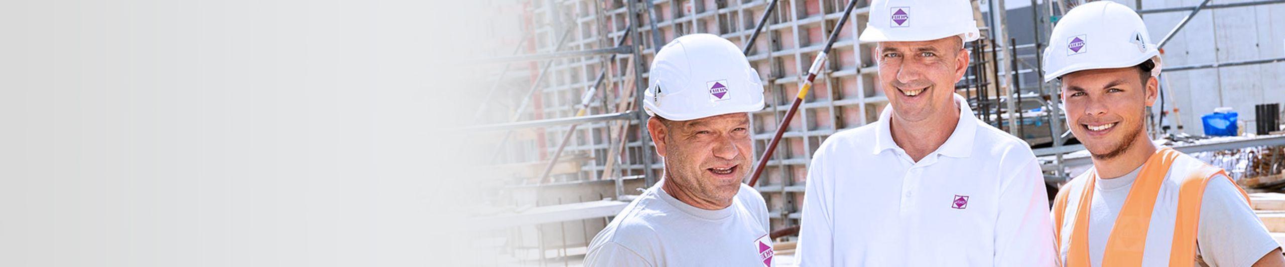 Über unsere Baufirmen